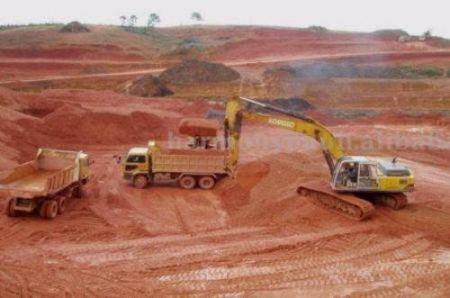 Guinée : la mine de bauxite Bel Air entre en production